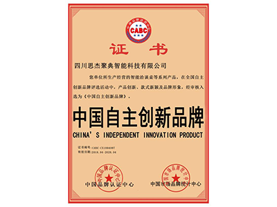 中国自主创新品牌
